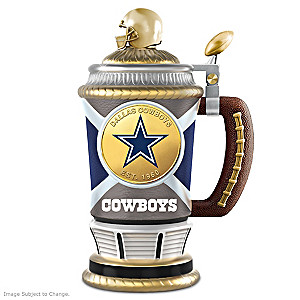 Dallas Cowboys Commemorative Porcelain Collector Stein