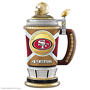 San Francisco 49ers Commemorative Porcelain Collector Stein