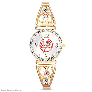 """My Yankees"" Ultimate Fan Women's Wristwatch"