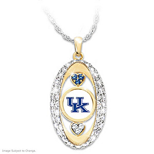 """""""For The Love Of The Game"""" Kentucky Wildcats Pendant"""