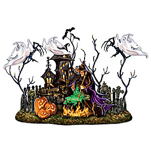 Dona Gelsinger Shadow-Casting Halloween Sculpture With Sound