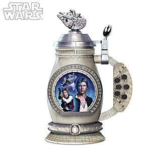 STAR WARS Han Solo Millennium Falcon Porcelain Stein