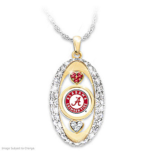 """""""For The Love Of The Game"""" Alabama Crimson Tide Pendant"""