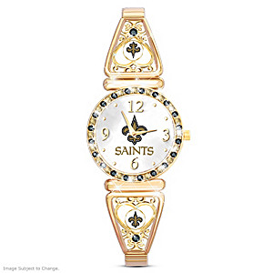 """My Saints"" Ultimate Fan Women's Wristwatch"