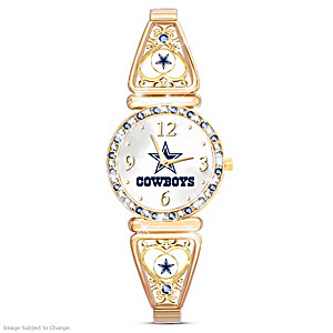 """""""My Cowboys"""" Ultimate Fan Women's Wristwatch"""