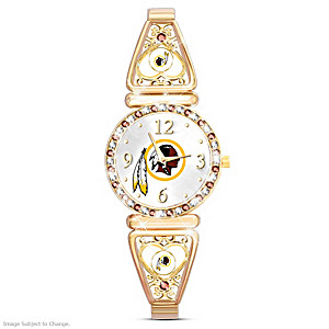 """My Redskins"" Ultimate Fan Women's Wristwatch"