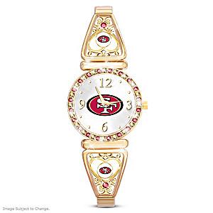 """""""My 49ers"""" Ultimate Fan Women's Wristwatch"""