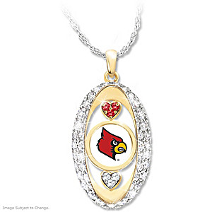 """""""For The Love Of The Game"""" Louisville Cardinals Pendant"""