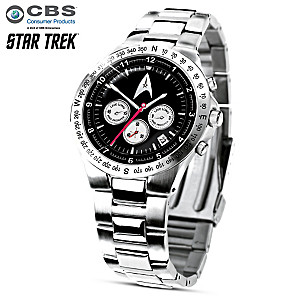 """STAR TREK: Live Long And Prosper"" Men's Chronograph Watch"