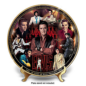 Elvis 80th Anniversary Masterpiece Collector Plate