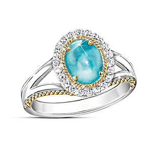 """Beauty of Ipanema"" Apatite Ring"