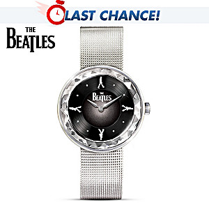 The Beatles Abbey Road Women's Watch With Rotating Album Art