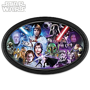 "STAR WARS ""Masters Of The Force"" Framed Collectible Edition"