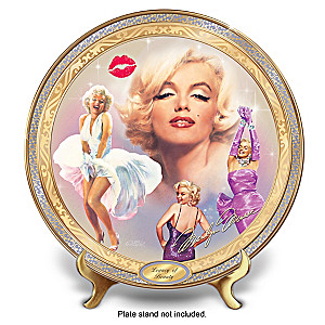 Marilyn Monroe Legacy Of Beauty Masterpiece Collector Plate