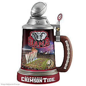 Alabama Crimson Tide Commemorative Porcelain Stein