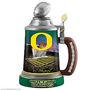 University of Oregon Ducks Commemorative Porcelain Stein