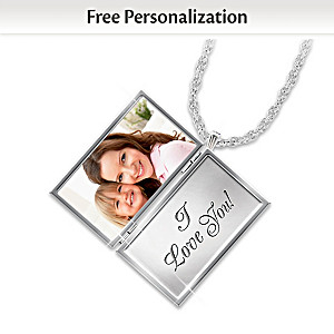 Love Note Locket For Daughters Personalized With Your Photo