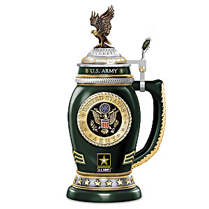 """U.S. Army Values"" Tribute Porcelain Stein"