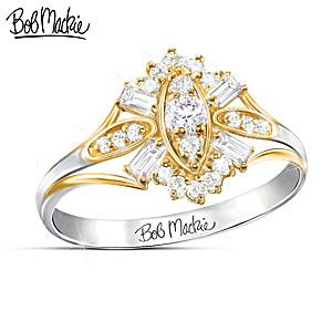 "Bob Mackie ""Dazzle"" Diamond Ring"