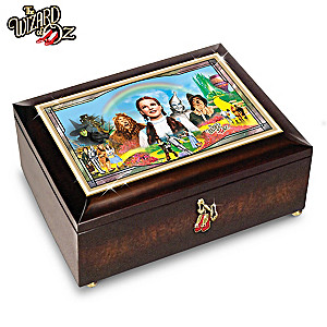 THE WIZARD OF OZ Illuminated Music Box