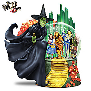 I'll Get You My Pretty WIZARD OF OZ Glitter Globe