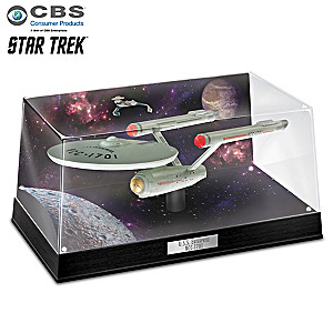 "STAR TREK ""U.S.S. Enterprise NCC-1701"" Illuminated Sculpture"