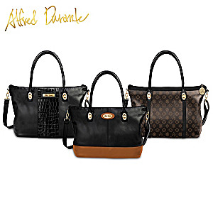 Alfred Durante 3-In-1 Interchangeable Handbag