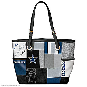 Cowboys For The Love Of The Game Tote Bag With Team Logos