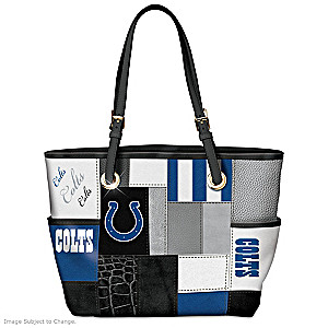 Colts For The Love Of The Game Tote Bag With Team Logos