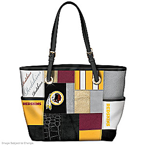 Redskins For The Love Of The Game Tote Bag With Team Logos