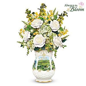 "Edmund Sullivan ""Blessings Of Ireland"" Floral Centerpiece"
