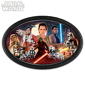 STAR WARS: The Force Awakens Framed Collectible Edition