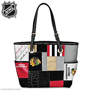 Chicago Blackhawks® Fashion Tote With Team Logos