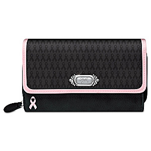 """Power Of Hope"" Breast Cancer Awareness Wallet"