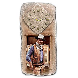 "John Wayne ""All Time Legend"" Wall Clock"