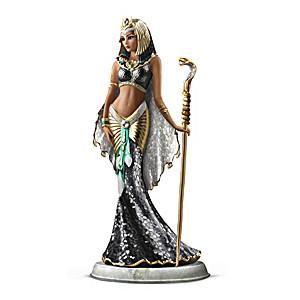 """""""Cleopatra Goddess Of Egypt"""" Mosaic Glass Sculpture"""