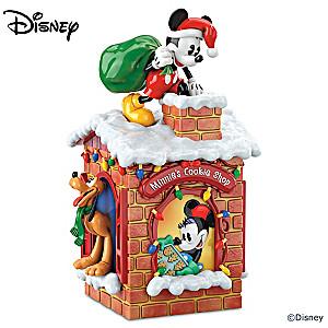 "Disney ""Sweet Holiday Treats"" Cookie Jar"