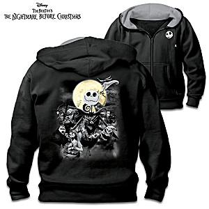"""The Nightmare Before Christmas"" Men's Cotton Blend Hoodie"