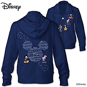 """Forever Disney"" Mickey Mouse And Friends Women's Hoodie"