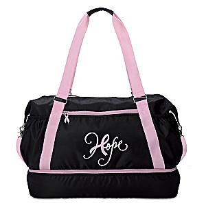 """Have Hope"" Breast Cancer Awareness Duffel Bag"