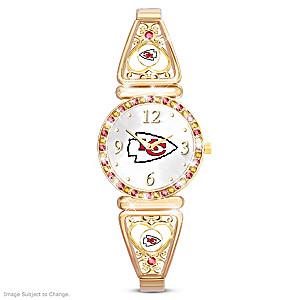 """""""My Chiefs"""" Ultimate Fan Women's Wristwatch"""