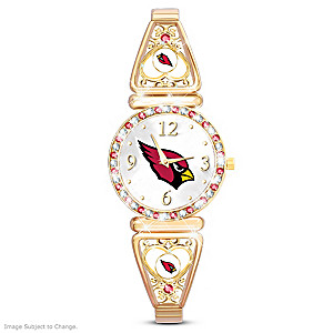 """""""My Cardinals"""" Ultimate Fan Women's Wristwatch"""