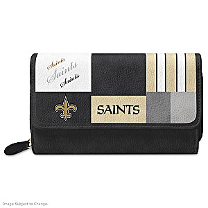 Saints For The Love Of The Game Wallet With Team Logos