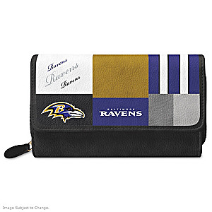 Ravens For The Love Of The Game Wallet With Team Logos