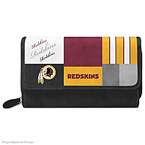 Redskins For The Love Of The Game Wallet With Team Logos