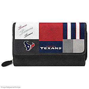 Texans For The Love Of The Game Wallet With Team Logos