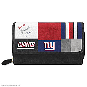 Giants For The Love Of The Game Wallet With Team Logos