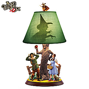 """We're Not In Kansas Anymore"" WIZARD OF OZ Lamp"