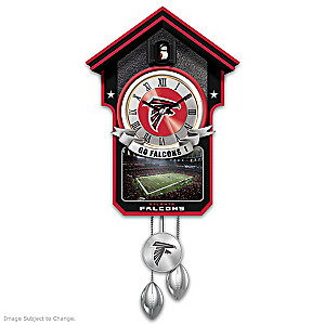 Atlanta Falcons Tribute Wall Clock