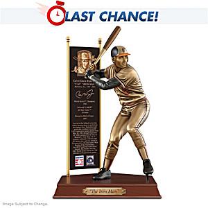 CAL RIPKEN JR. Baltimore Orioles Cold-Cast Bronze Sculpture